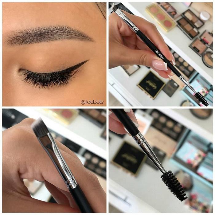 Подчеркнуть тонкие брови повседневным макияжем