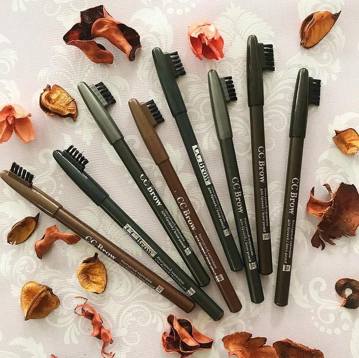 Серый карандаш для бровей цвет волос thumbnail