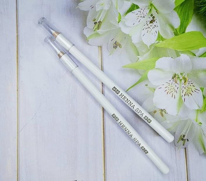 Белый карандаш для бровей